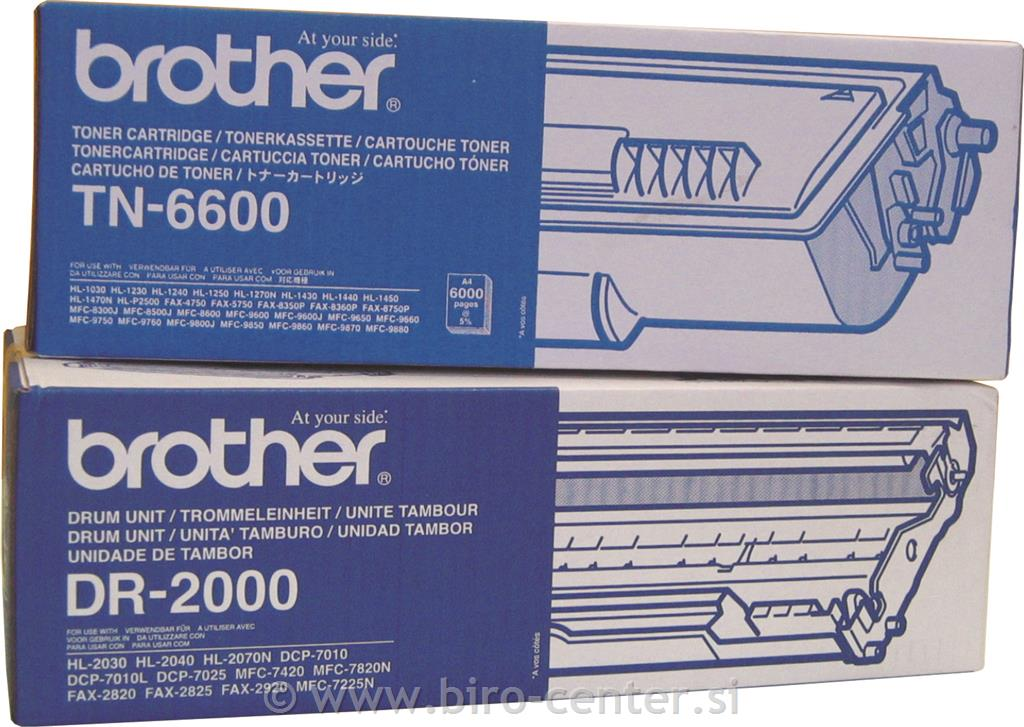 BROTHER PRIBOR TN-6600 BLACK